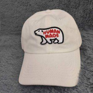 Human Made Bear Cap White